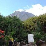 Vulcão Arenal, vista da piscina hotel Los Lagos