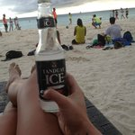 refreshing tanduay cooler at happy hour