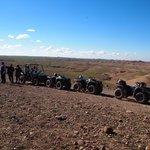 Mooi uitzicht in de woestijn...