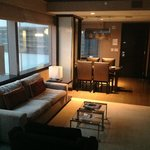 Executive Corner Suite Living Room