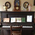 piano in the common room