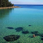 Clear waters of Jervis Bay