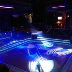 La piste de dance