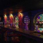 Le bar de la boite de nuit