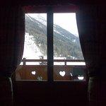 vista dal letto