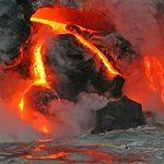 Lava flow Hawaii