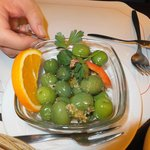 the delicious olives