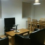 Siting cum Dining cum Kitchen - well furnished and comfortable, 2 seater each