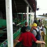 walking tour of processing equipment