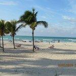 White, fine, sandy beach