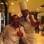 Francisco Ferraez the Cheff at Ciao restaurant: Best food!