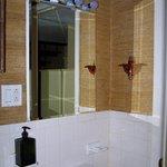 # 3 bathroom sink, mirror cabinet