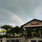 Double rainbow at Sandals