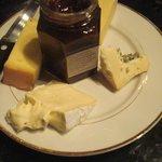Cheese & Jam Plate