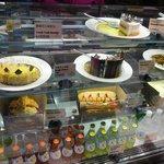 Desserts at Gloria Jean's Coffee
