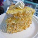 Cheesecake at Gloria Jean's Coffee
