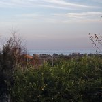 view of the Ionian sea from the second-floor balcony
