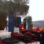 courtyard where we had breakfast