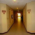 pasillos dentro del htl