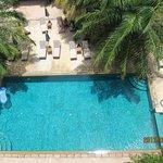 空拍游泳池