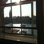 View from living room of westminster suite