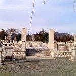 【鳥居強右衛門】の墓❶