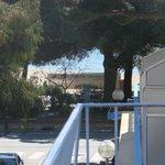 vue terrasse chambre échappéé mer
