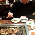 Ginseng Korean BBQ - rib eye beef
