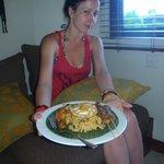 Yummy Nasi Goreng room service