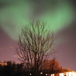 The Northern lights - February 2013 - taken outside the hotel