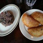 Beans and rice & empanada sampler