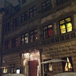 Hofer is housed in one of the oldest buildings in Munich, beautiful from the o
