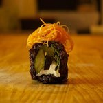 black rice sushi, only at Youmiko