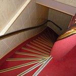 vista delle scale