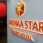 Entering Arena Star Luxury Hotel