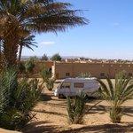 achteraanzicht auberge Sahara