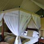 Luxury Tent von innen