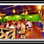 Enjoying an exotic meal at Tandoor