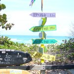 Signposts at Billie's