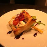 Goats Cheese Tartlet