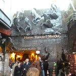 Horse tunnel markets, Camden Lock