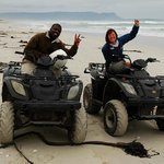 Quad biking with Octavia