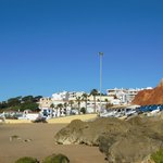 View of Olhos from the beach