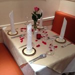 special occasion table