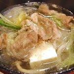 Black pork shabu shabu