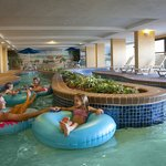 Float Away in the Indoor Lazy River