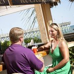 Enjoy Your Favorite Drink at the Tropical Paradise Pool Bar