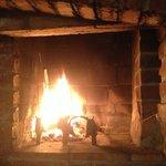 heartwarming Fireplace