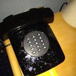 condizioni vomitevoli del telefono della camera...