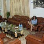 Hotel Comfortable Lounge Bar Area